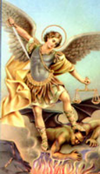 St Michael the Archangel/Prayer, Pictures, Catholic Church Saint