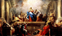 The Golden Legend: The Feast of Pentecost or of the Holy Ghost