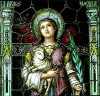 St Agnes Church Biography. Saint Agnes in agony, Catholic Martyr