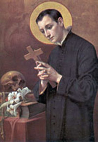 St Aloysius Gonzaga Biography Saint Prayer of the Catholic Church