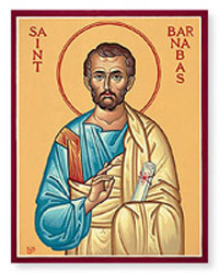 St Barnabas Church Biography Saint Barnabas Life Miracles Prayers