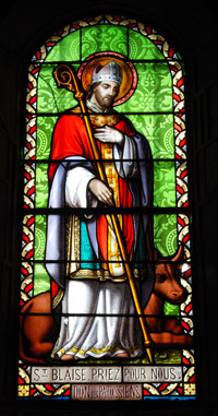 St Blaise Biography Day Saint Blase Prayer Feast St Blaize Blessing