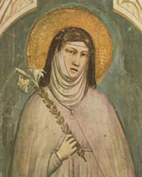 St Claire of Assisi Biography Saint Clair St Clares Church Prayers