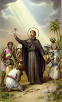 St Francis Xavier Church Biography, Catholic Church Patron Saint