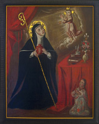 St Gertrude the Great, Prayer, Revelations, Biography, Life, Pictures