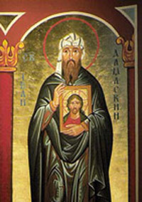 St John of Damascus Biography, Saint John Damascene Church Life