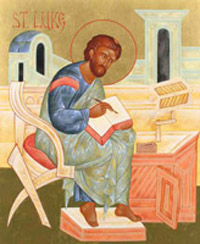 St Luke Catholic Church Biography, Saint Luke The Evangelist Life