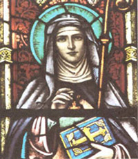 St Scholastica Biography, Church Saint Scholastica Life, Prayer