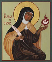 St Theresa of Avila Biography, Church Saint Prayer, Quotes, Life