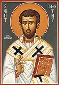 St Timothy Catholic Church Biography Saint Timothy Life Martyrdom