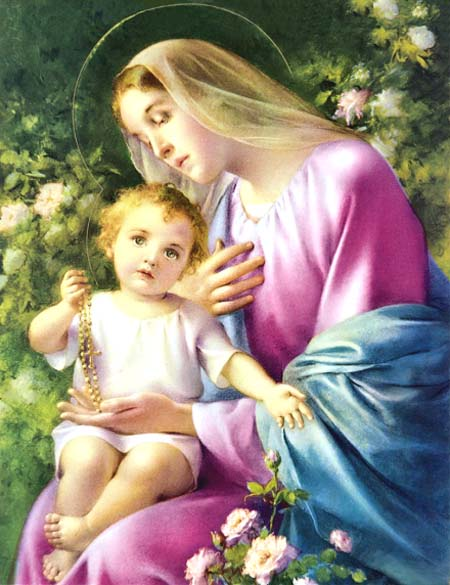 Virgin Mary and Child Jesus, The Blessed Virgin Mary