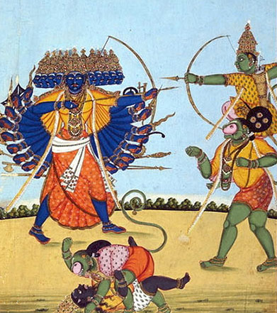 Summary of the story of ramayana